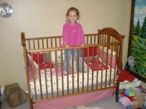 Storkcraft Crib and Change table