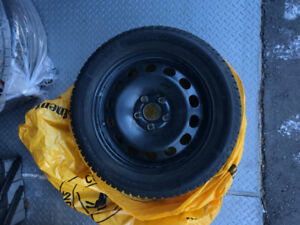 16 Inch Winter Tires with Steel Rims!!! 205/55-R 16