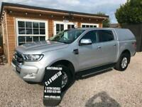 2018 Ford Ranger Pick Up Double Cab Limited 2.2 TDCi 4x4 Automatic. No Vat