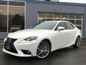 2016 Lexus IS 300 AWD-PREMIUM-BACK UP CAMERA-ROOF-48KMS