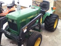 John Deer Model 650 Diesel Tractor