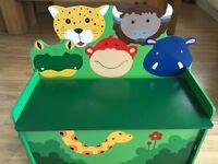 Child's storage box/seat