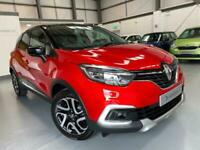 2018 Renault Captur Dynamique S NAV [facelift model] Ruby red met, Low mileage