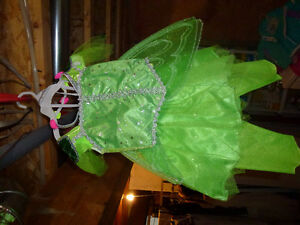 GREEN FIARY HALLOWEEN COSTUME SIZE 2-3T