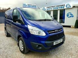 Ford Transit Custom Trend L1H1 SWB In Deep Blue 125BHP 41K One Owner 2016