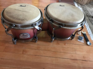 Bongos and accessories- new
