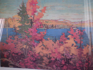 "Tom Thomson - "" Autumn Foliage ""-  Limited Edition Print - Kitchener / Waterloo Kitchener Area image 3"
