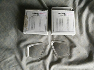 Prescription diving mask lenses