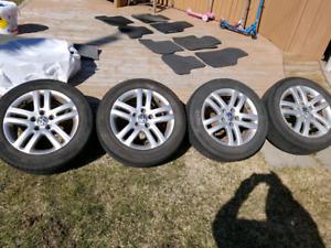 Mags & pneus VW JETTA TDI 2009