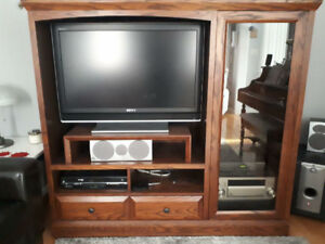 Solid Wood TV/Entertainment Unit
