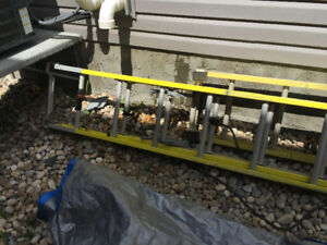 Ladder For Sale. 30 foot extension ladder. In great shape.