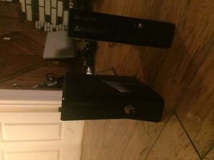 Two xbox360 12 games 2 controllers and turtle beach headset