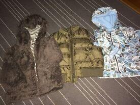 Baby boy jacket size 9-12 months