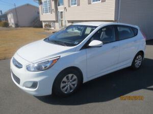 LOOK  :  ONLY 8300 KM  : 2016 HYUNDAI ACCENT HATCHBACK