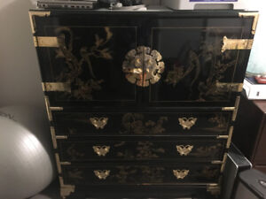 Meuble -commode chinois