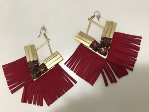 Indian jewelry. Fashionable statement earings !!!!