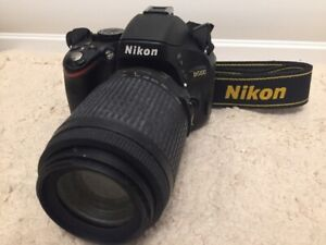 "Like New ""Nikon D5100 DSLR "" + 55-200 Lens (Only 2975 pictures t"