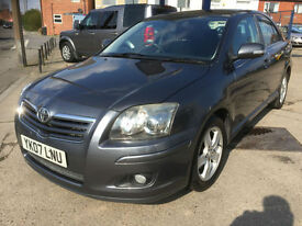 2007 Toyota Avensis 2.0 D-4D diesel T3-X 113,000 miles, full history, hpi clear