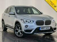 2017 BMW X1 SDRIVE18D XLINE SAT NAV REVERSING CAMERA LEATHER SEATS SVC HISTORY