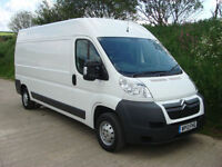 2013 13 Citroen Relay 35 2.2 Hdi 130 L3 H2 Lwb High Roof Van 48,000 Miles