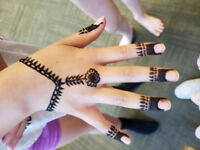 Henna for Parties - kids/ adults