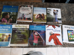 Early childhood education books. (Used)