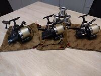 Daiwa SS3000 Carp Reels + Spare Spools