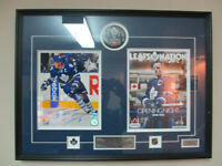 SIGNED LIMITED EDITION TORONTO MAPLE LEAFS DION PHANEUF FRAME