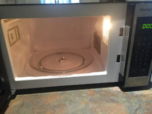 Black homestyles microwave for sale