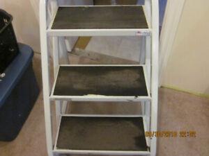 Heavy Metal Step Ladder