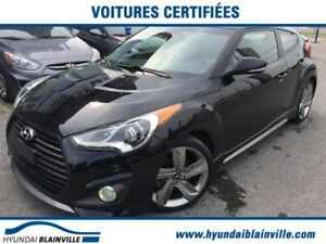 Hyundai Veloster Turbo NAVIGATION,CUIR,TOIT PANO,BLUETOOTH,MAGS+