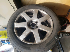Volkswagen Jetta Alloy Rims and tires