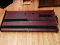 large custom built peddle board - interior space for power