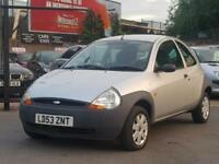 2003 53 FORD KA 1.3 PETROL 3 DOOR HATCHBACK