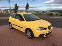SEAT IBIZA 1.4 TDI (56) 1 LADY OWNER, 1 YEAR MOT, FULL SERVICE HISTORY, WARRANTY £1695