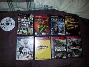 PS2 slim.  Comes with games. Cornwall Ontario image 6