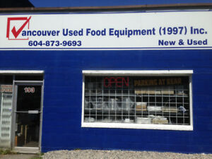 VANCOUVER NEW&USED RESTAURANT , FOOD EQUIPMENT