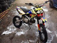 Stomp 140 pitbike pit bike crf 70