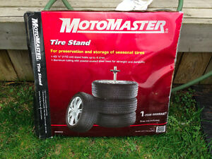 Motomaster Tire Storage Stand (never used)
