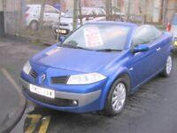 2007 Renault Megane 1.9 DIESEL VVT ( 111bhp ) Coupe Dynamique