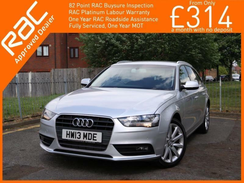 2013 Audi A4 2.0 TDI Turbo Diesel SE Technik Auto Avant Estate Sat Nav Bluetooth