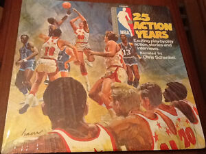 Rare NBA 25th anniversary lp vinyl record