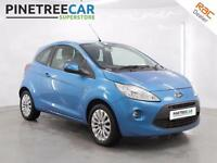 2011 FORD KA 1.2 Zetec 3dr start stop
