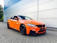 2015 BMW M4 3.0 DCT + FIRE ORANGE + M PERFORMANCE KIT + HUGE SPEC