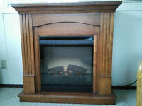 Electric Fireplace Mantel by Dimplex