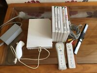 Nintendo wii and games.
