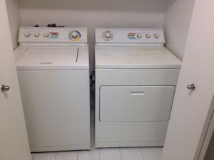 Laveuse /Secheuse  ** Whirlpool Super Capacity **  Washer /Dryer