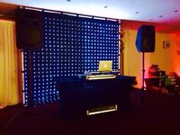 3 X 2.5m Backdrop Star cloth, 670 LEDs, DJ, Professionals