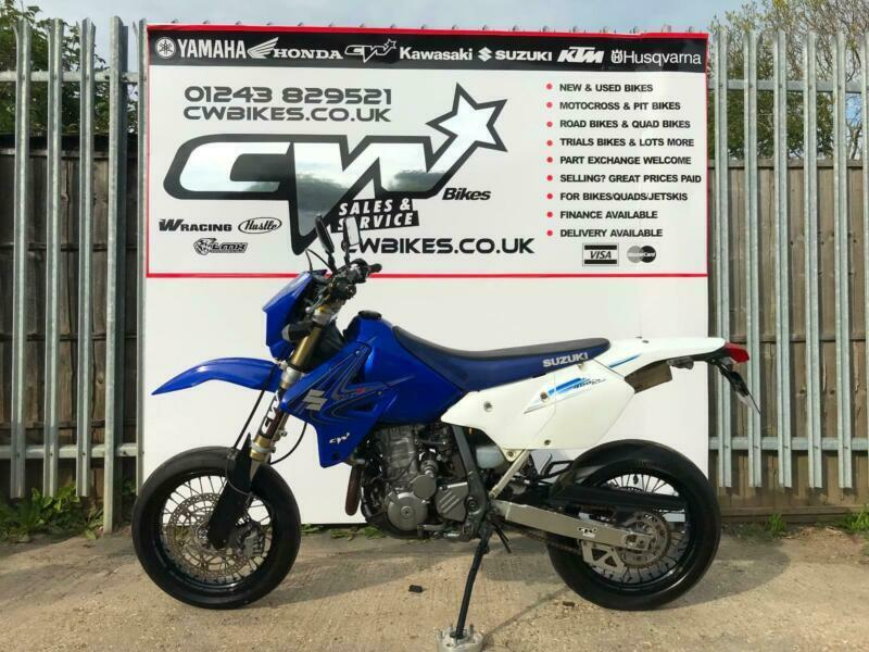 SUZUKI DRZ400 SUPERMOTO BLUE, EXC CRFX SOLD MORE STOCK WANTED | in Bognor  Regis, West Sussex | Gumtree