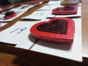 Love and hearts themed magnets Kingston Kingston Area image 2